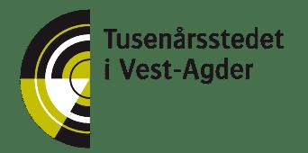 Logo Tusenårsstedet i Vest-Agder